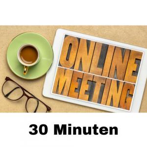 Online Meeting 30 Minuten