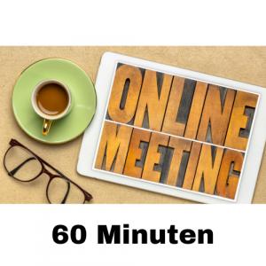 Online Meeting 60 Minuten